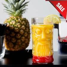 (24 Case) 16 oz. Crystal Clear Cooler Glass Screaming Tiki Novelty Restaurant