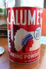 Calumet 5 pound baking powder tin