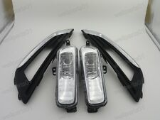 Front Fog Lamps / Fog Lights & Skin Line Covers Kits For Ford Focus 2015
