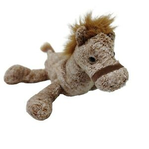 Russ Berrie Silky Horse Pony Plush Soft Stuffed Animal Toy Washed and Clean 17cm