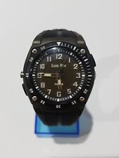 Louis P. Military Army Black Watch Paris With Flashlight BackLight 100M Resist