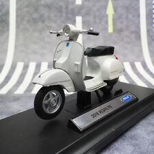 WELLY 1:18 Scale VESPA PX 2016 Scooter Motorcycle Diecast Model Display Bike