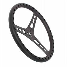 """JOES Racing Products 13515-B 15"""" Dished Steering Wheel, 3-Bolt Mount - Aluminum"""