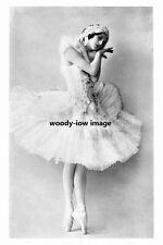 rp10552 - Russian Prima Ballerina , Anna Pavlova - photograph 6x4