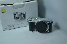 Nikon 1 J5 20.8MP Digital Camera SILVER - body only - NO BOX - but with extras!