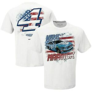 Kevin Harvick #4 Nascar 2021 Old Glory T-shirt, Large