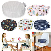 Round High Chair Portable Kids Baby Cushion Travel Booster Seat Pad Dining Chair