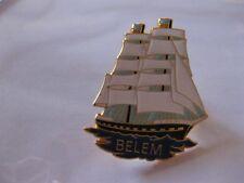BELEM TALL SHIP   PIN BACK NEW