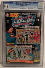 JUSTICE LEAGUE OF AMERICA #76 - CGC 9.6 - GIANT ISSUE