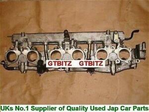 Skyline GTR R32 R33 R34 RB26 Throttle Bodies Cylinder Head Spacer Sandwich Plate