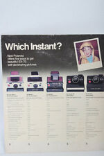 Polaroid SX-70 camera Advertising Store Counter dealer display shop Sign