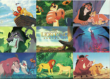 LION KING CARDS - SERIES 2 - COMPLETE DISNEY SET OF 80+WRAPPER - SIMBA - RAFIKI