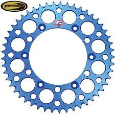 Renthal Blue Rear Wheel 50 Sprocket Fits Yamaha Yz Wr 125 250 250f 400 426 450
