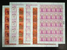 2013 China Hong Kong Chinese and Western Wedding Customs Stamps (Full Sheet) MNH