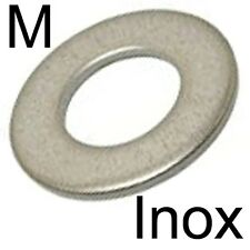 RONDELLE plate M moyenne - INOX A2 - M6 (30)