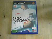 jeu playstation 2 pro evolution soccer 2