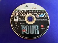 NFL Tour (Microsoft Xbox 360, 2008) WORKS / NO TRACKING / DISC ONLY