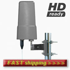 High Gain UHF Digital Outdoor Aerial with amplifier for Digital TV and Saorview