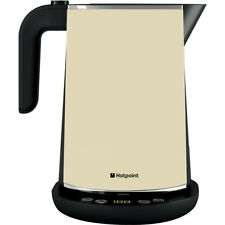 NEW HOTPOINT CREAM CORDLESS ELECTRIC KETTLE-WK30EAC0UK -FREE P&P TO MOST AREAS