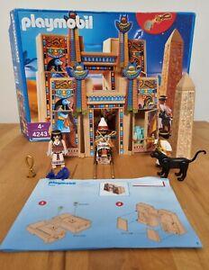 Playmobil 4243 Pharaonentempel Ägypten Mit OVP 2007