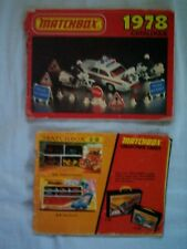 Matchbox Lesney Collector Catalogs 1973 & 1978