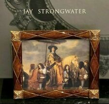 Jay Strongwater New Harlequin Argyle Frame in Original Box 3.5 X 4.5""