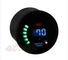 Oil Pressure Gauge Meter Digital LED Smoke Tint Lens Tachometer Blue PSI Race