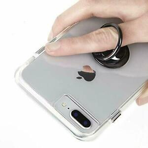 CASE MATE RING Smart Phone Holder 360 Rotating Stand for Grip & Security   Black