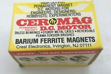 Mabuchi CERMAG DC MOTOR BARIUM FERRITE MAGNETS NEW IN BOX  RC ENGINES RE260 260