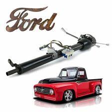 """Ford Truck F1 1948-56 Keyed Black Tilt Steering Column 33"""" bbf power king F2 F3"""