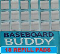 Baseboard Buddy 18 Pack of Microfiber Replacement Pads 18X Refill FAST SHIPPING