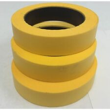 "AUTOMOTIVE TAPE, 1.5"" X 45 YARDS, YELLOW, 2 ROLLS (TP001)"