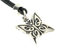 The Butterfly, Handmade pewter pendant, Personal Spirit Guide