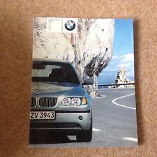BMW 3 Series 2003 UK  Brochure