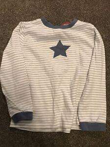 the little white company Kids Star Pyjamas 5-6