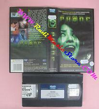 VHS film PHONE 2004 Ahn Byoung EAGLE PICTURES 861179ENVO noleggio (F157) no dvd