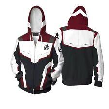Avengers 4 Endgame Hoodie 3D Print Men Sweatshirt Sweater Zipper Jacket Coat COS