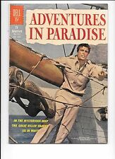 Adventures In Paradise Dell Four Color #1301 April 1962  killer shark story Jaws