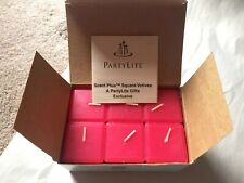 Partylite Cherry Orchard Scent Plus Square Votives- Spring Scent- New