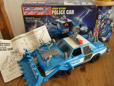 Nintendo Mario Bros Movie Crash Action Police Car  ERTL 1993  Boxed Toy.