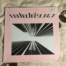 Contactdisc 1 LP Industrial Minimal Synth Orig Stichting Stopcontact STOP 1 1983
