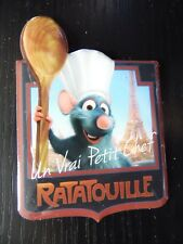 Magnet Disney Disneyland Paris Park : Logo Ratatouille & Paris Eiffel Tower