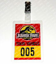Jurassic Park ID Badge/Card Dinosaur Tour Vehicle Cosplay Costume Prop Comic Con