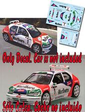 Decal 1:43 Jose Maria Ponce - PEUGEOT 306 MAXI - Rally Maspalomas 1998