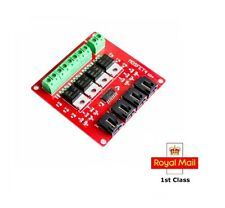 Four Channel 4 Route MOSFET Button IRF540 V4.0+ MOSFET Switch Module  Arduino Pi