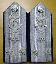 NEW US COAST GUARD AUX HARD SHOULDER BOARDS NATIONAL COMMODORE (NACO) CP MADE