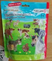Schleich Farm World Überraschungstüte mit 3 Tiere der Serie 2