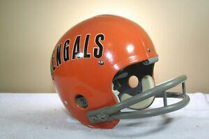 CINCINNATI BENGALS Riddell Kra Lite 8 Suspension TK NFL Football Helmet 1970