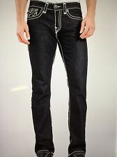 TRUE RELIGION RICKY SUPER-T MEN JEAN 2S BODY RINSE MNR859NUL1 NWT 38W $318 USA