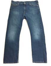 "Men's Levi Strauss 513™ Mid Wash Slim Straight Denim Stretch Jeans W38"" L30"""